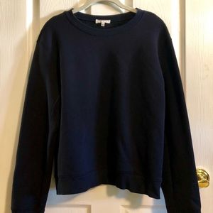 Aritzia Community | Navy Blue Sweatshirt